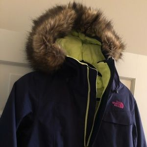 North face women's ski jacket